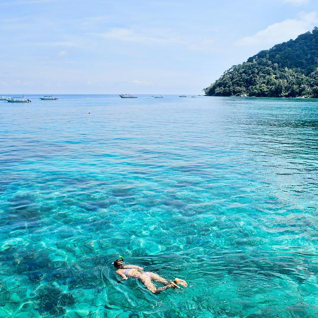 salang snorkel scuba jetty tioman island