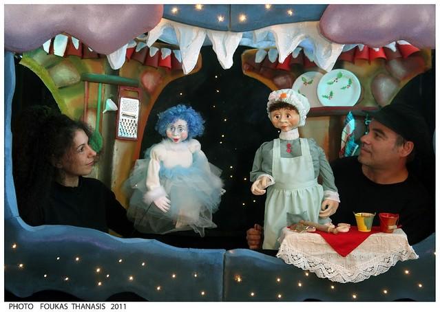 Παράσταση Κουκλοθεάτρου Νιφάδα Λου, η ατακτούλα του χιονιού στο Βρυσάκι