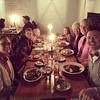 Dinner at the tavern! #Williamsburg