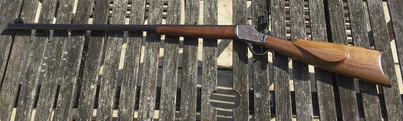 Fabrication crosse pour Winchester 1885 High Wall 17097723432_5e3a877e06_c