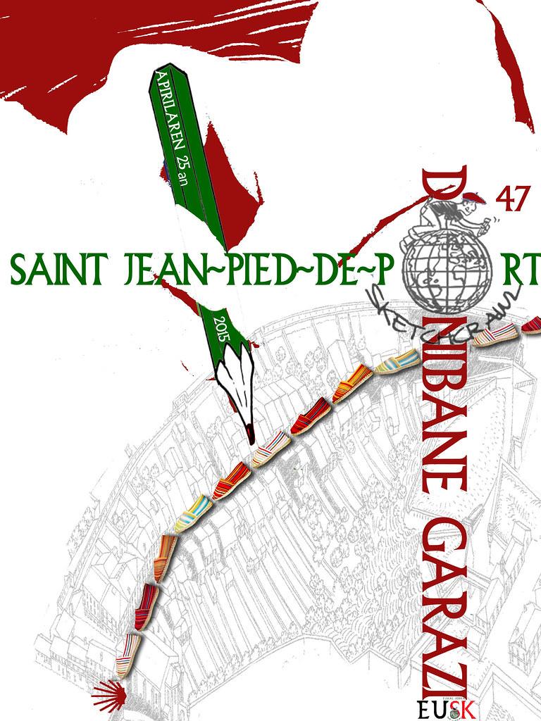 47th SketchCrawl Donibane Garazi