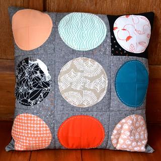 Blood moon pillow