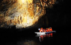 Inside the underground river