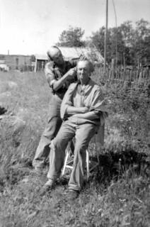 Getting a Hair Cut c.1945