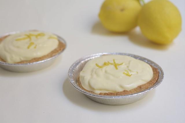 Tartelettes à la mousse au citron