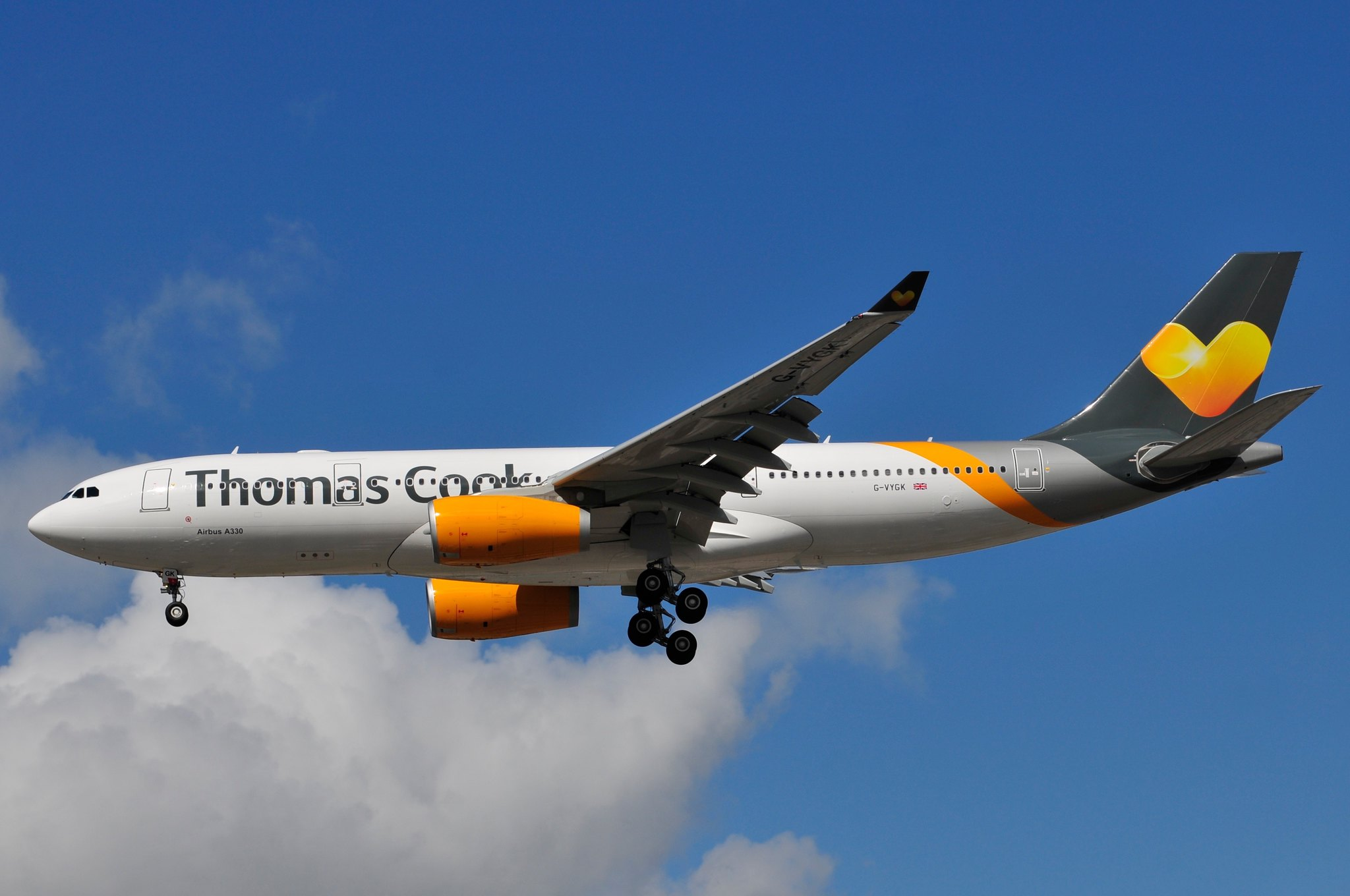 G-VYGK | G-VYGK Thomas Cook Airlines / Air Tanker Airbus ...