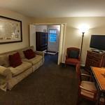 Living area to open bedroom