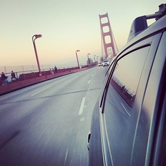 Leaving #SanFrancisco. # WRX #Subaru #goldengatebridge #family
