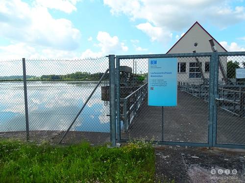 Günz -der Fluss > am  Günzstausee Waldstetten in  Bayerisch Schwaben - Günz-der river > au réservoir de Günz Waldstetten dans la Souabe bavaroise