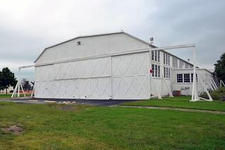 U. S. Air Force, (former) Brooks Air Force Base, Texas, Hanger 9 (Edward White  II Memorial Hanger)