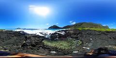 From Makapu'u Beach - a 360 degree Equirectangular VR