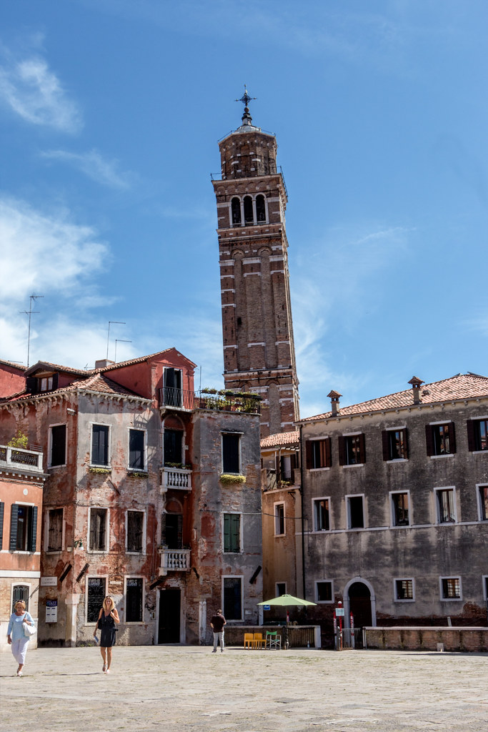 The leaning Tower of Venice