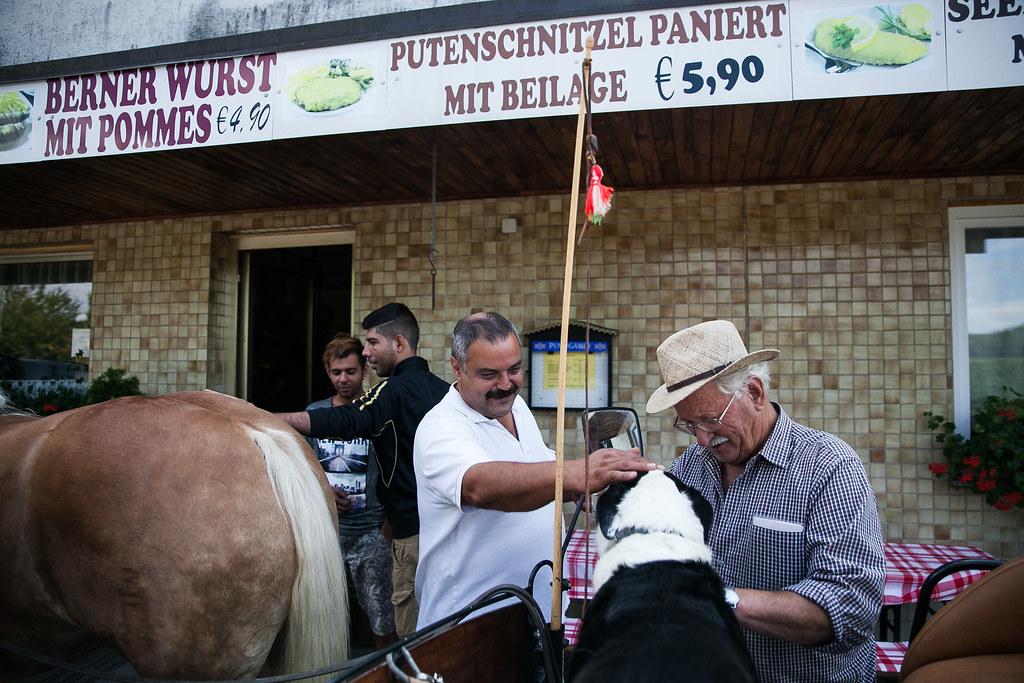 Menedékkérők szállása Weichselbaumban, Ausztriában