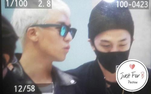 BIGBANG arrival Seoul 2015-10-26 justforb