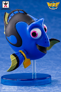 WCF《海底總動員2:多莉去哪兒?》色彩鮮豔的魚類角色們!