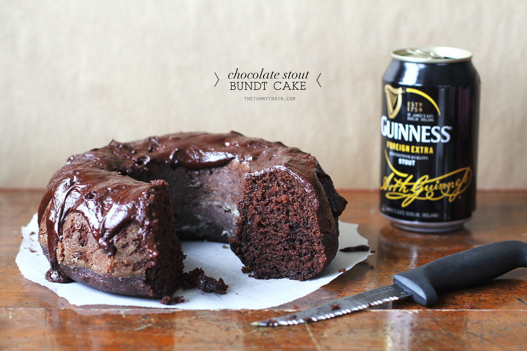 16478562623 73f6e171a2 b - A simple chocolate and beer celebration cake