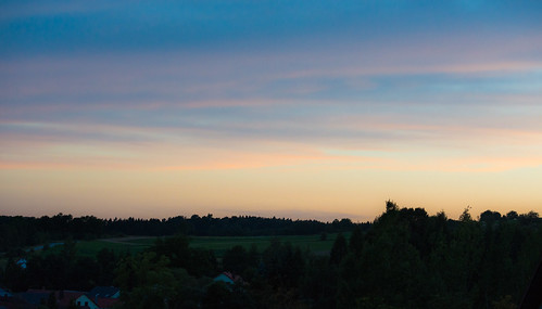 Noch ein Sonnenuntergang in der Oberpfalz