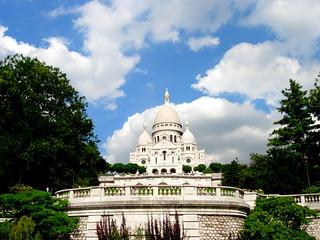 Sacré-Cœur Basilica in Paris, France