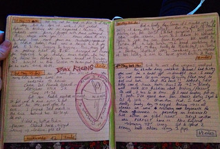 May Journal pages