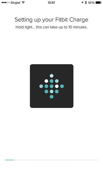 Fitbit iOS App - Setup #6