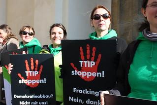 Global Day of Action against TTIP, CETA & TiSA, April 18th 2015 (Berlin)