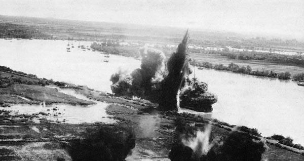 The Kanju Maru Explodes