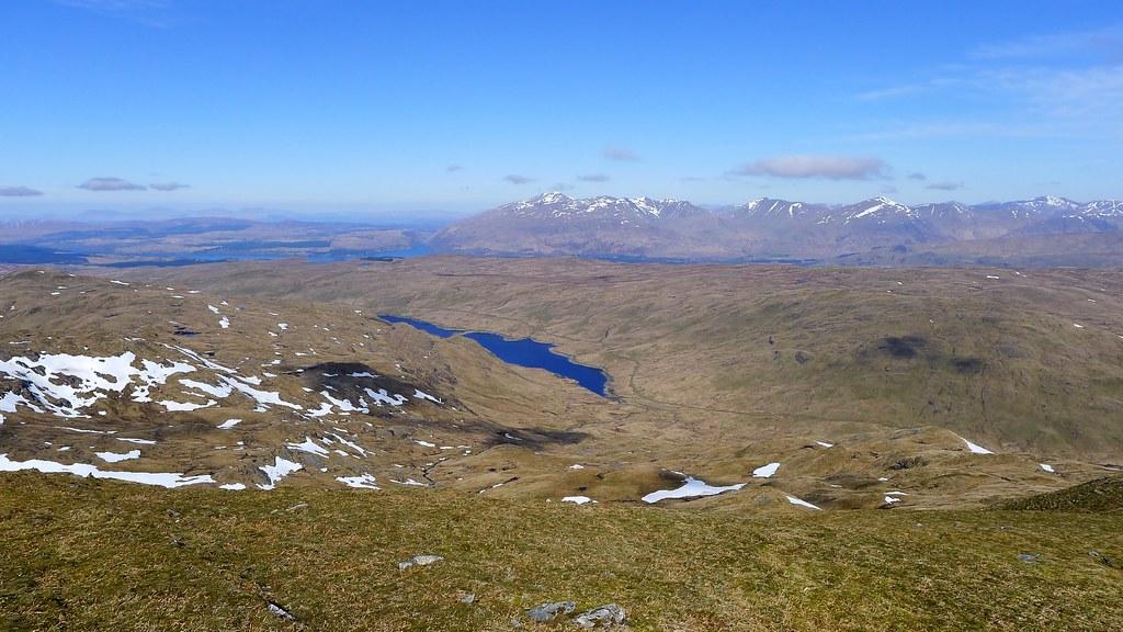 Across Lochan Shira to Ben Cruachan