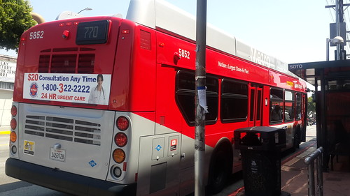 LACMTA Metro Rapid NFI XN-40 #5852