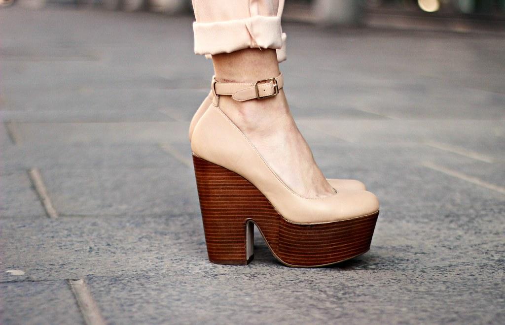 The Little Magpie platform shoes