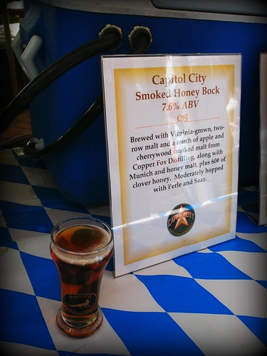 Capitol City smoked Honey Bock