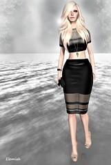 Elemiah - Little black dress