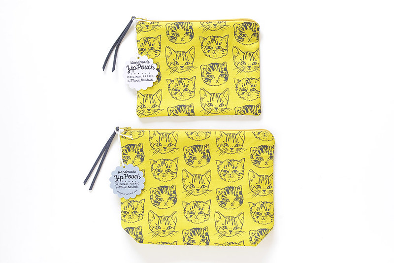 Cute Cat Pouches | New Sizes