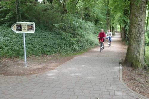 Cycleway at Arendsee