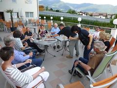 Begrüßungstreffen im Hotel Wiesenhof