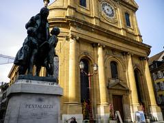 Pestalozzi statue, Yverdon