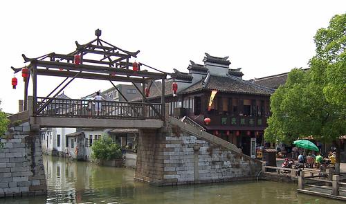 geo:lat=3115832100 geo:lon=12071476000 geotagged china chn jiangsu tongli 同里 brücke kanal 中国 桥 江苏 河