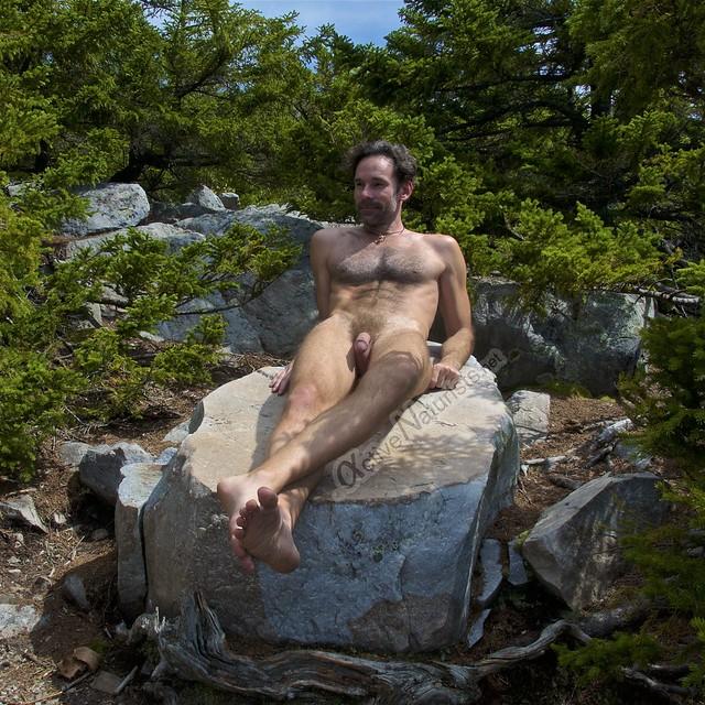naturist 0012 Appalachian trail, Vermont, USA