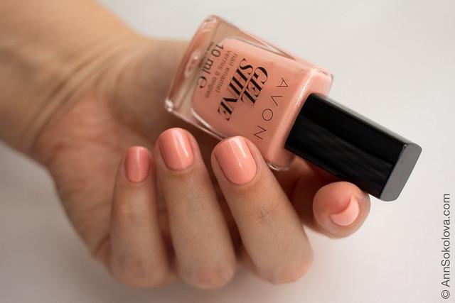 03 Avon 63071 Dazzle Pink Рожеве сяйво Ann Sokolova swatches