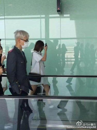 BIGBANG lArrival Shenzhen from Seoul 2015-08-07 035