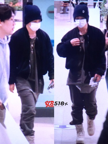 Big Bang - Incheon Airport - 03dec2015 - YB 518 - 02