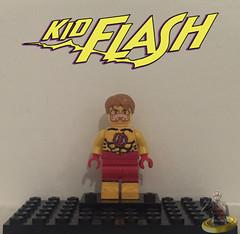 Custom Lego Kid Flash