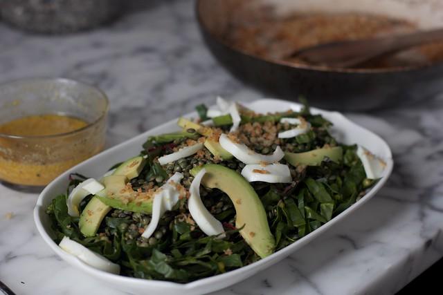 Swiss Chard Salad (9)