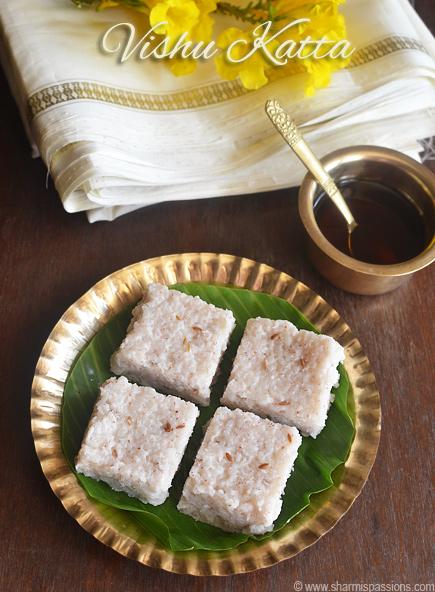 Vishu Katta Recipe