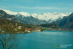 En Route to Lucerne by Train - Switzerland