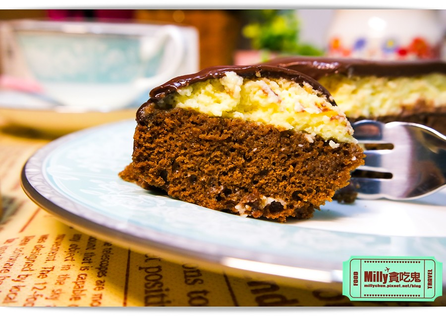 樂樂甜點超濃生巧克力布朗尼蛋糕0010