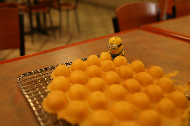 Minion Phil with Chinese Egg Waffle