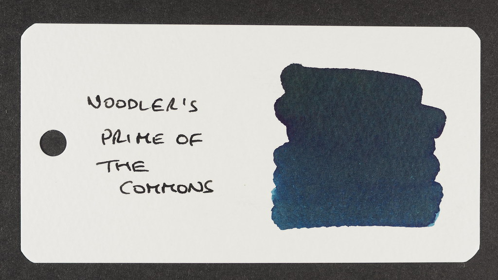 Noodler's Prime of the Commons Blue-Black - Word Card