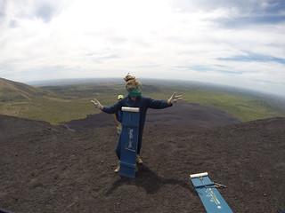 Cerro Negro.  Nicaragua.