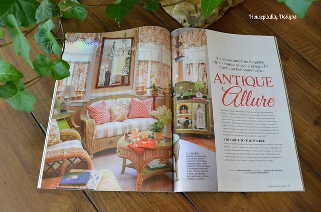 French Country Style Magazine-Housepitality Designs