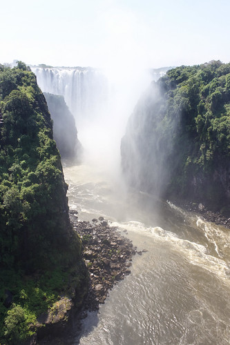 world africa trip travel vacation holiday tourism water canon wonder waterfall scenery tour view african scene falls zimbabwe victoriafalls zambia traveler lightroom